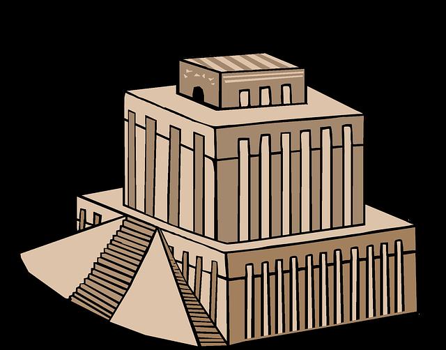 babylonský chrám
