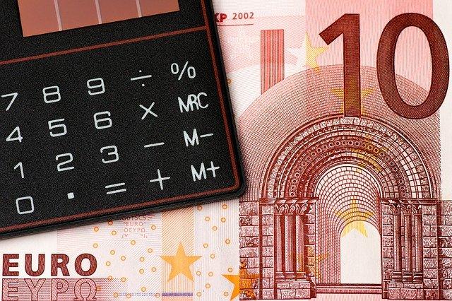 součet bankovek