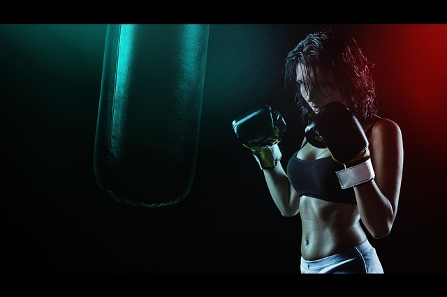 trénink boxu