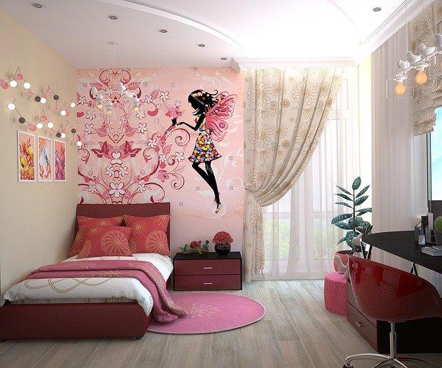 pokoj malé slečny