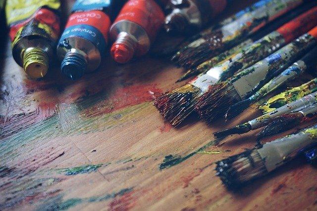 potřeby pro malování